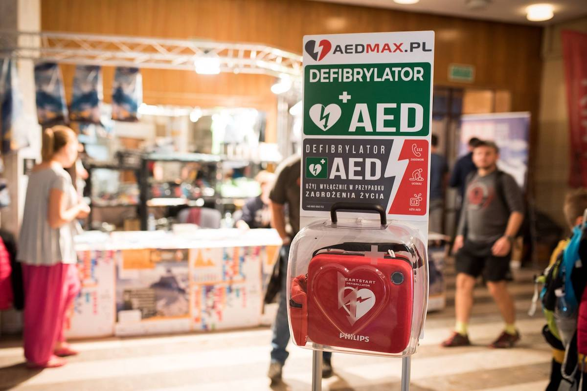 defibrylacja, Nagłe Zatrzymanie Krążenia, aedmax